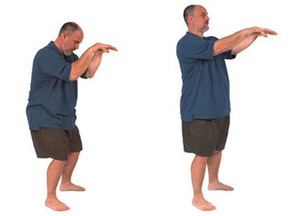 Bend the Bow Spinal Qigong