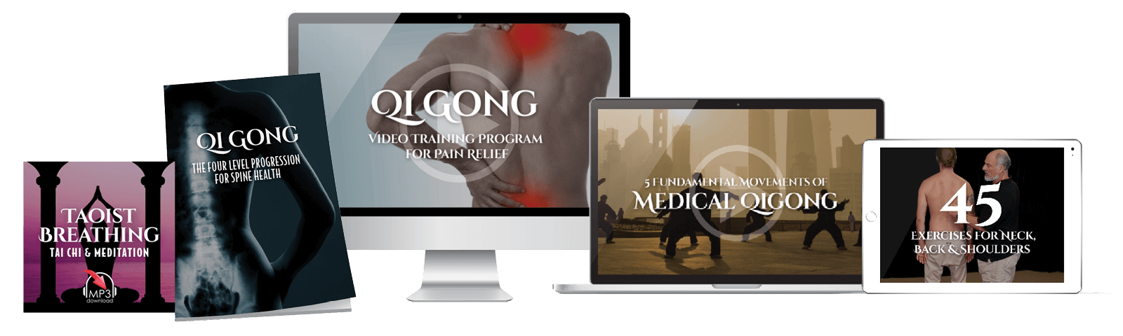 Qigong Pain Relief - Energy Arts - For Neck, Back & Shoulder