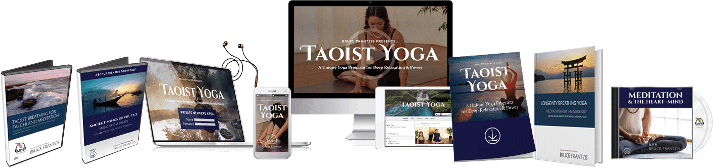 complete learn taoist yoga package cover art