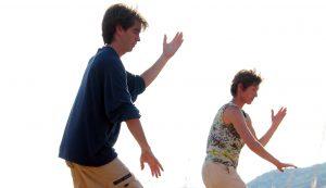 energy arts events senior instructor craig barnes demonstrates tai chi movement
